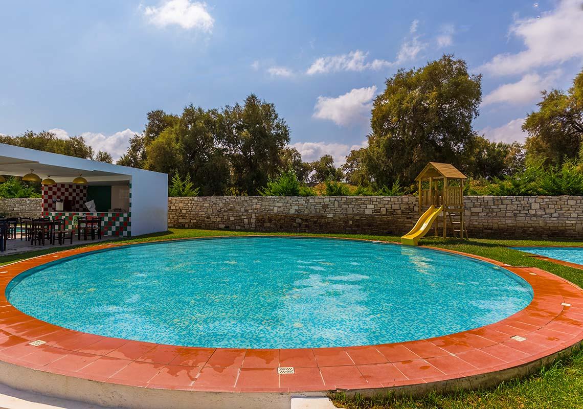 rethymno crete hotel with pool - Rethymno Residence Aqua Park & Spa