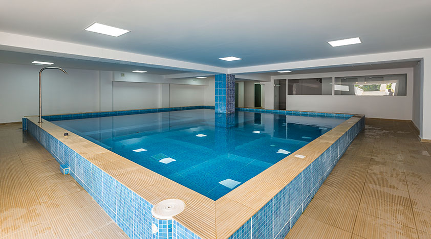 rethymno crete hotel interior pool - Rethymno Residence Aqua Park & Spa