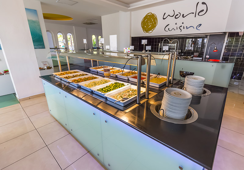 rethymno hotel restaurant - Rethymno Residence Aqua Park & Spa